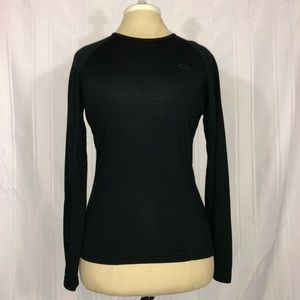 Icebreaker Wool Long Sleeve Fitted Bodycount 200 M